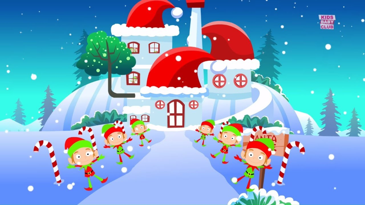 we wish you merry christmas xmas cartoon videos videos for babies song by kids baby club. Black Bedroom Furniture Sets. Home Design Ideas