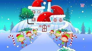 Wir Wünschen Ihnen Frohe Weihnachten | Xmas Cartoon Videos | Videos für Kleinkinder | Song von Kinder-Baby-Club