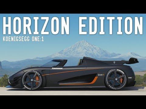Koenigsegg One:1 HORIZON EDITION - Forza Horizon 3