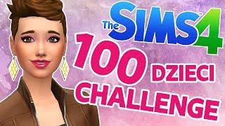 THE SIMS 4 CHALLENGE 100 DZIECI #10 Odwiedziny u tatusia  | MissKremowka