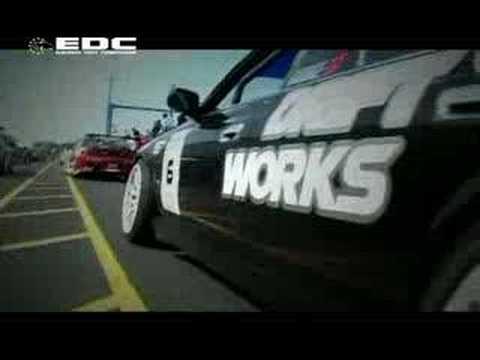 2007 European Drift Championship EDC Intro Round 1