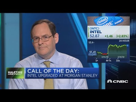 Intel surges on Morgan Stanley upgrade