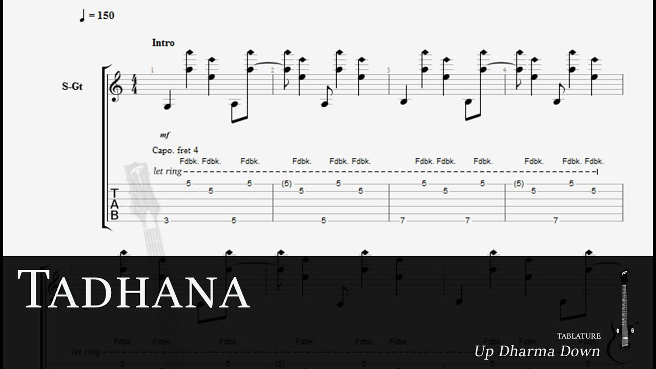 Tadhana by: Up Dharma Down (Fingerstyle GP Tab) - YouTube