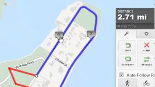 How to Create a Map Using MapMyRun.com