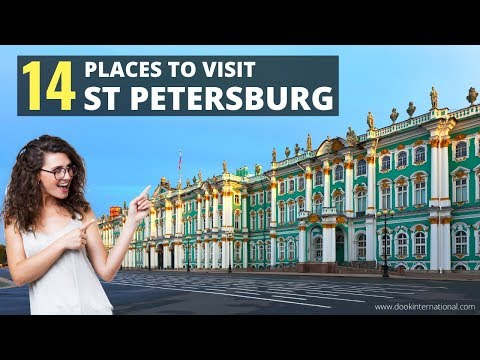 Top 14 Places to Visit in St. Petersburg, Russia | St. Petersburg Tourist Attractions | Travel Guide