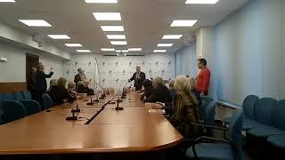 Выступление Владислава Третьяка в Олимпийском комитете России