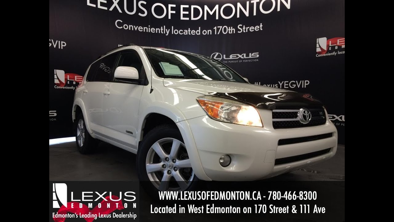 Used White 2006 Toyota Rav4 Auto V6 4wd Limited Review