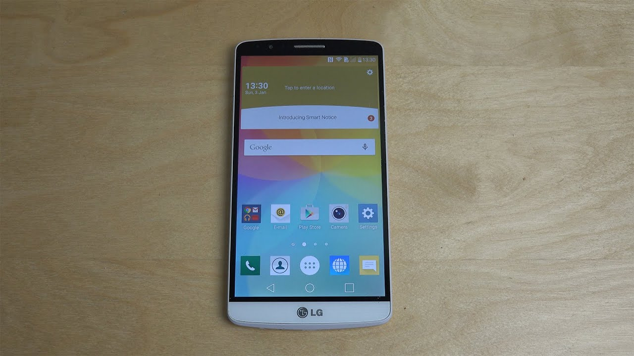 LG G3 Official Android 60 Marshmallow