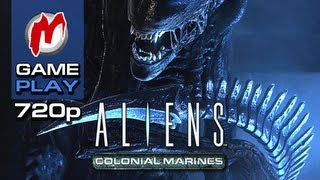 ▶ Aliens: Colonial Marines - Начало игры