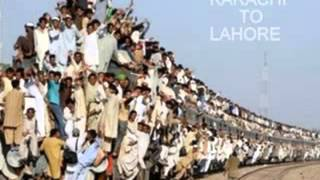 Heavy Rush Train from Karachi to Lahore :) :)