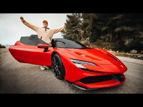 THE FERRARI SF90 STRADALE IS AN INSANE HYPERCAR! | VLOG⁵ 15 (part 1)