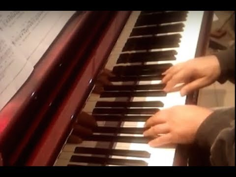 Lead me Lord - piano part with flute on melody  - no click