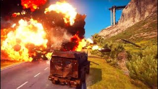 Gambar cover Epic Police Chase - Just Cause 3