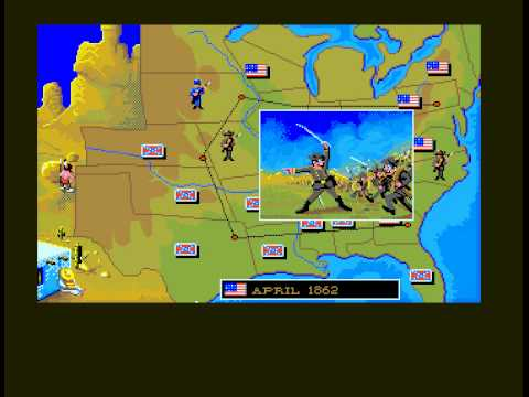 TRISTAR Retro Gaming - AMIGA - North and South Complete - HQ Capture.