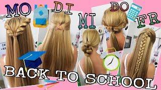 BACK TO SCHOOL 2017 schnelle einfache Frisuren coole Mädchen Z&F