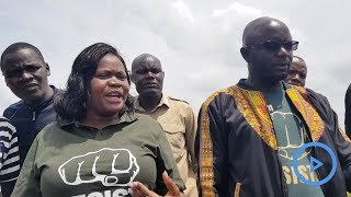 Gladys Wanga dares police to shoot her in airport confrontation