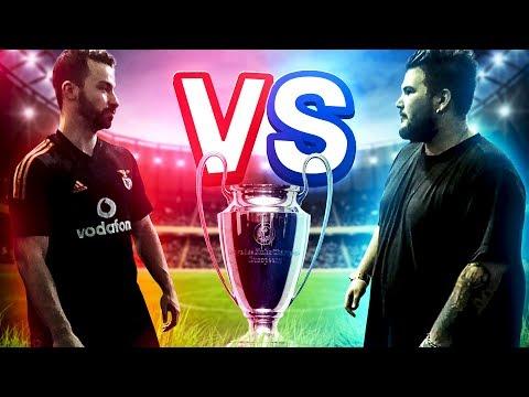 TEAM CHENTRIC Vs TEAM TIAGOVSKI #3 (jogo De Futebol)
