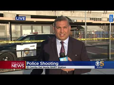 BART Police Shoot Domestic Abuse Suspect At El Cerrito Station