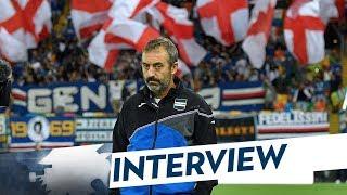 Udinese-sampdoria, giampaolo: «ripartiamo dalla mezzora finale»