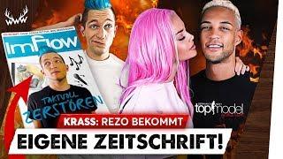 Rezo bekommt EIGENE ZEITSCHRIFT! • GNTM 2019: YouTube-Star dabei! | #WWW