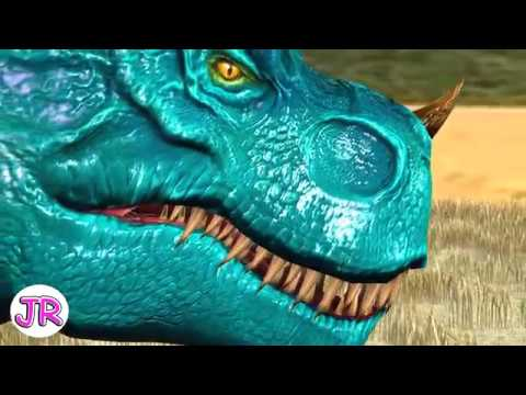 T - Rex | Dinosaurs Battle | EP.1 | By JR Kids World