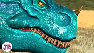 T - Rex | Dinosaurs Battle | EP.1 | By JR Kids World