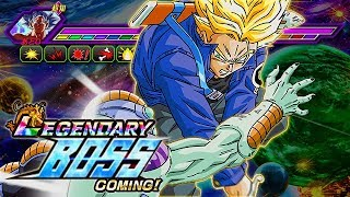 TIME TRAVELERS & LR TRUNKS VS. THE LEGENDARY GOKU EVENT! (DBZ: Dokkan Battle)