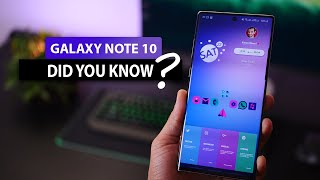 7 Things Galaxy Note 10 Users Rarely Use