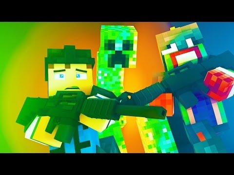 Minecraft Battlefield - HOSTAGE! (Day 2)
