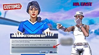 🔴Fortnite Custom Matchmaking Key! Controller On Pc//Solo,Duos,Squads// PS4,XBOX,PC, // NAE // ! Code
