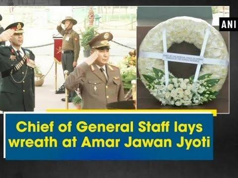 Chief of General Staff of Kyrgyz Republic lays wreath at Amar Jawan Jyoti - Delhi News