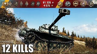 Bat.-Châtillon 12 t ЛТ 8 уровня 12 фрагов 🌟🌟🌟 World of Tanks лучший бой