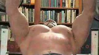Bodybuilding Exercise: incline fly variant for chest