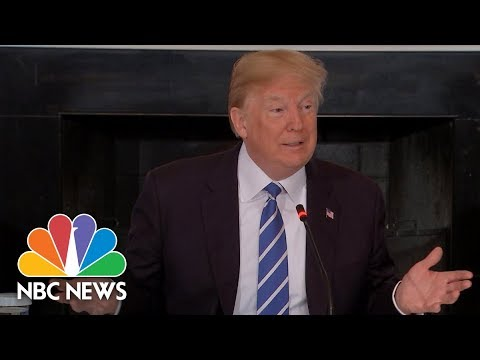 President Donald Trump Talks Defense Spending Increases In New Budget   NBC News
