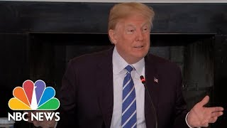 President Donald Trump Talks Defense Spending Increases In New Budget | NBC News