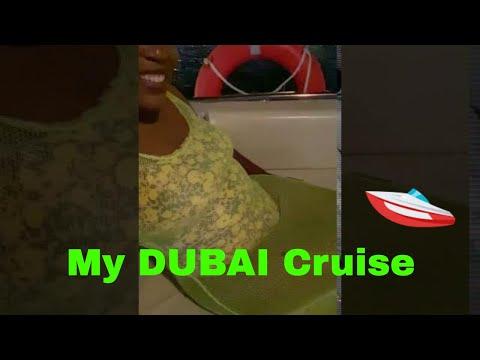 Cruising along in the DUBAI Marina Traveling during the Pandemic!