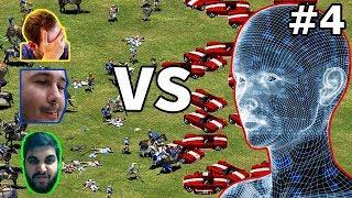 TheViper, DauT & TaToH vs 5 Barbarian AI | #4