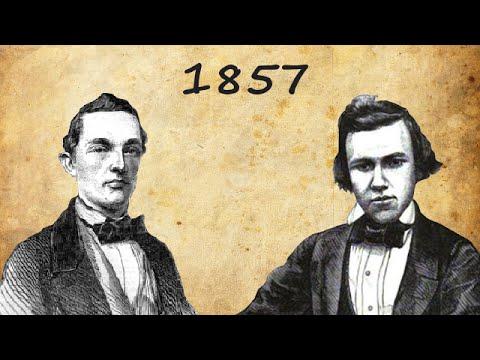 Louis Paulsen vs Paul Morphy  - 1st American Chess Congress | 1857