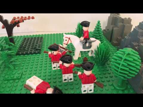 Lego American Revolution-- the battle of Saratoga