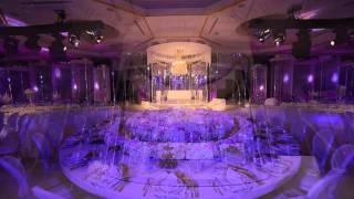Royal Wedding Crystal Fairy Breath Theme in Habtoor Grand Hotel by Olivier Dolz Wedding Planner