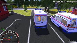 Repeat youtube video Gameplay - Rettungswagen Simulator 2012 - HD (1080p)
