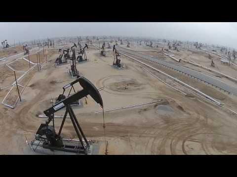 Kern Oil Field Near Bakersfiled, CA