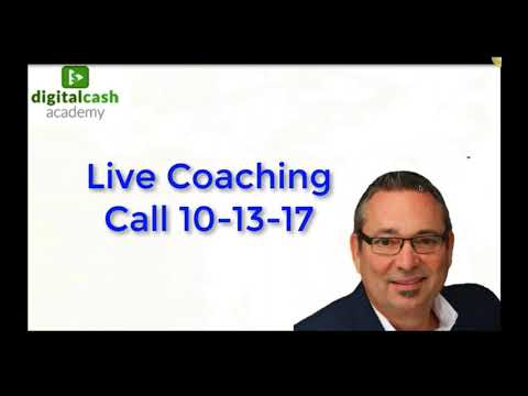 Answering Your Questions   Digital Cash Academy Coaching Call