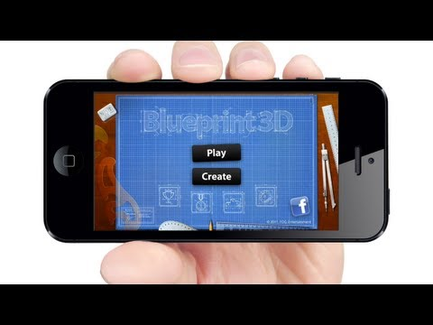 Phone Game: BLUE PRINT 3D by A...