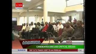 Anambra Governorship Debate: Candidates Discuss Critical Issues Pt 1