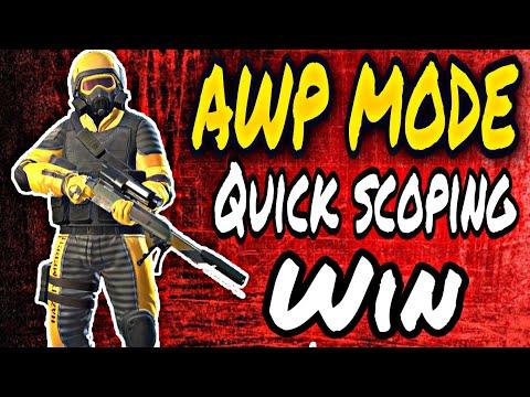 AWP Mode sensitivity