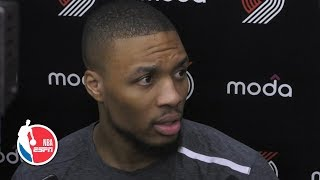 Damian Lillard confirms he's been playing with separated ribs since Game 2 | 2019 NBA Playoffs