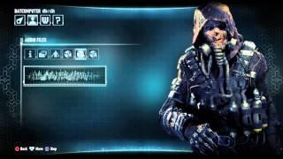 Batman Arkham Knight All Scarecrow Audio Logs