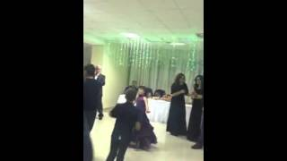 Очень красивый танец Алины. Свадьба в нальчике.