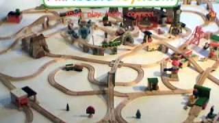 Huge Thomas Wooden Train Set!